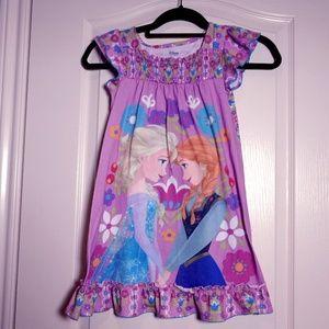 3 for $25! Disney Store FROZEN Anna Elsa Nightgown
